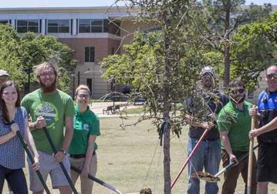 UNT Arbor Day Celebration