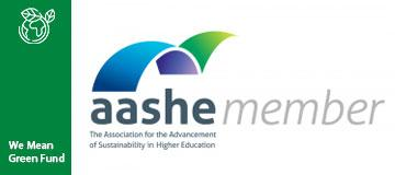 AASHE Association for the Advancement of Sustainability in Higher Education