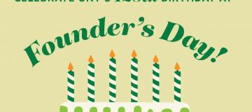 founders day birthday cake
