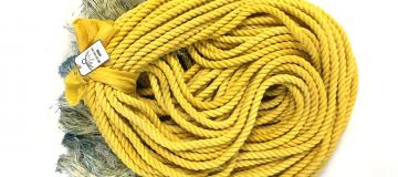 Gold natural graduation cord