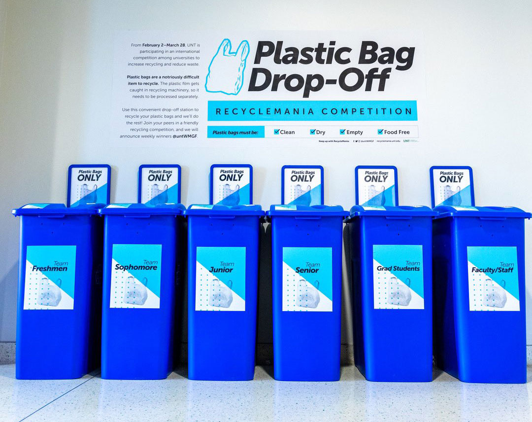 Plastic Drop off area in the union