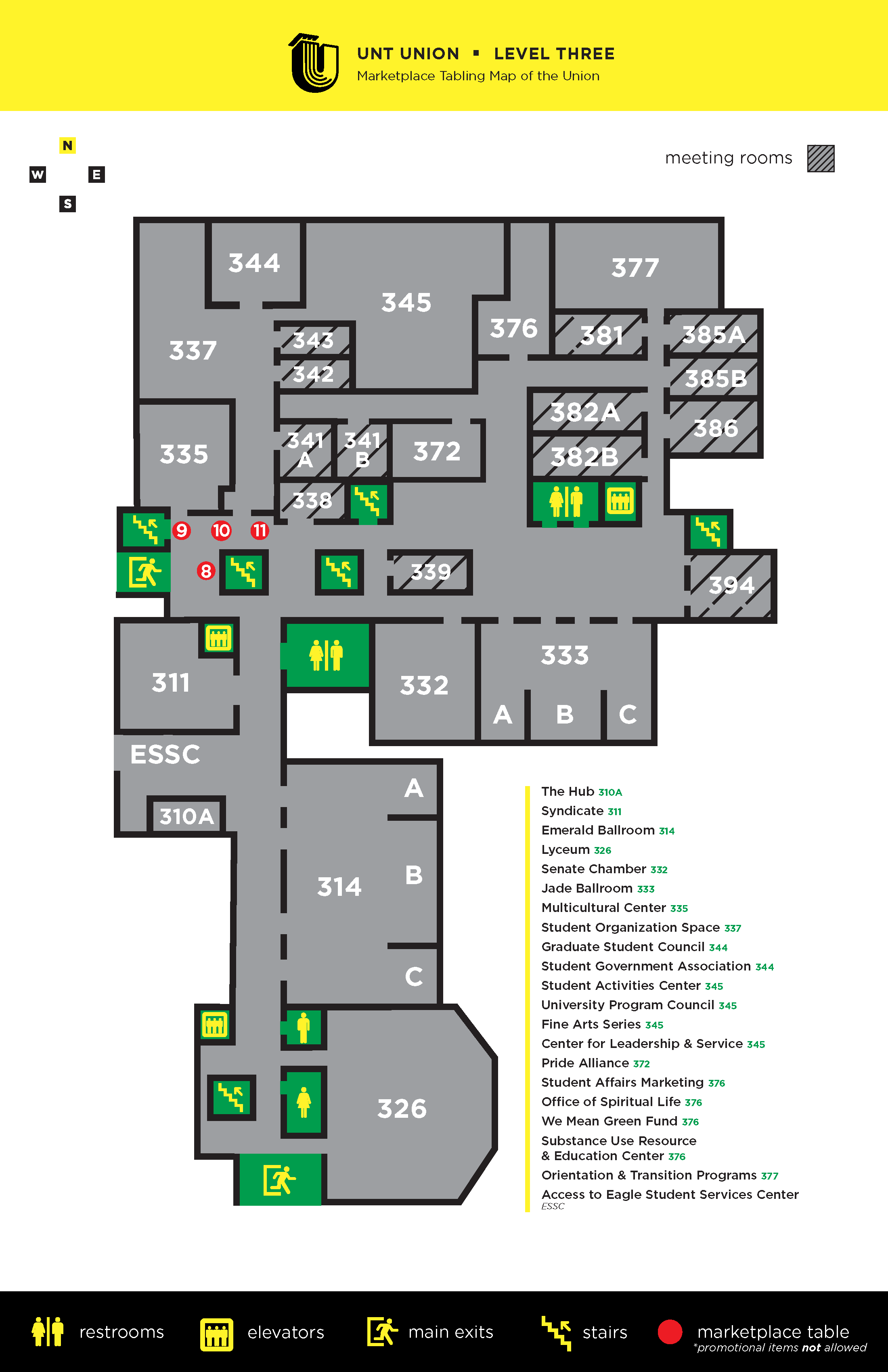Union Level 3 Map