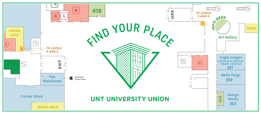 University Union floor plan