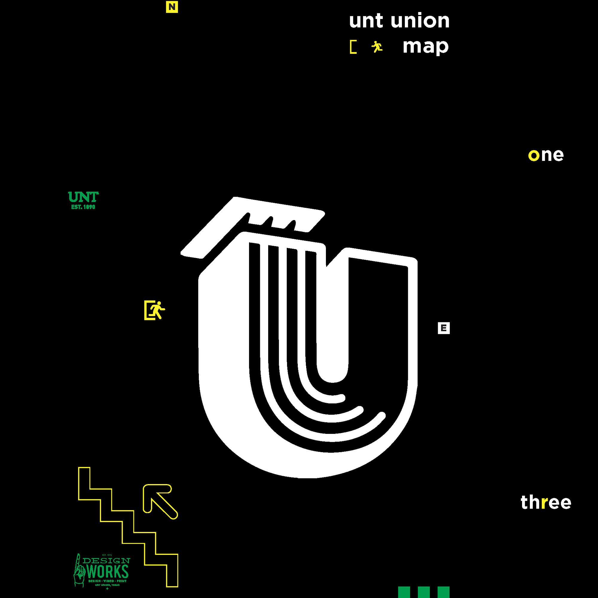 link to UNT Union map